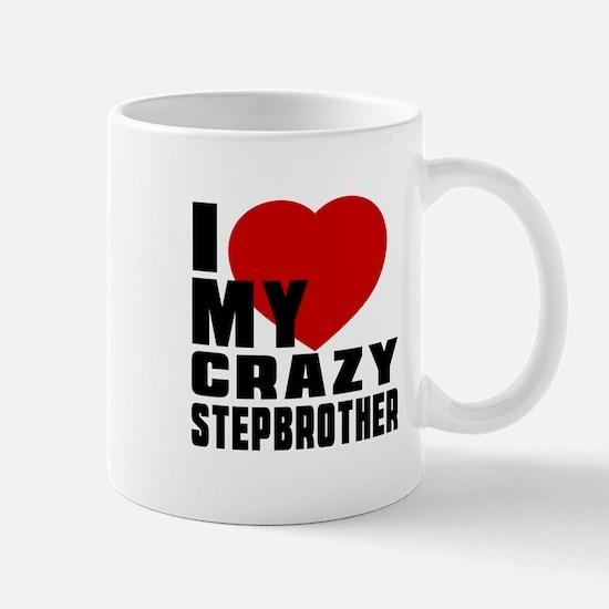 I Love Stepbrother Mug