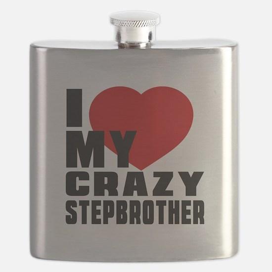 I Love Stepbrother Flask