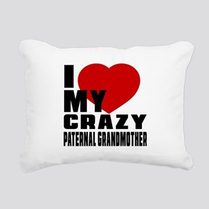I Love paternal Grandfat Rectangular Canvas Pillow