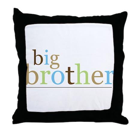 Big Bro (fun) Throw Pillow