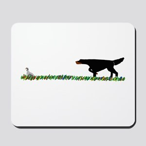 Gordon Setter in the Field II Mousepad