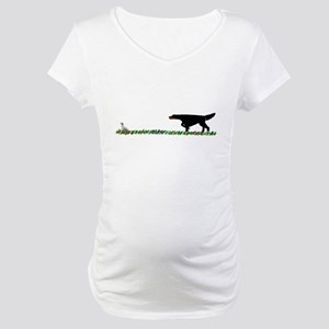 Gordon Setter in the Field II Maternity T-Shirt