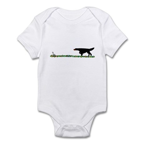 Gordon Setter in the Field II Infant Bodysuit