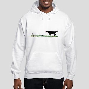 Gordon Setter in the Field II Hooded Sweatshirt