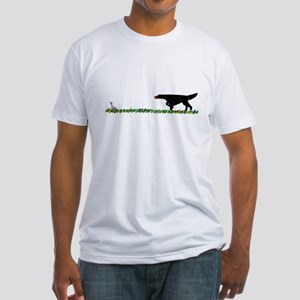 Gordon Setter in the Field II Fitted T-Shirt
