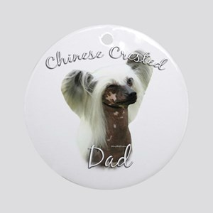Crested Dad2 Ornament (Round)