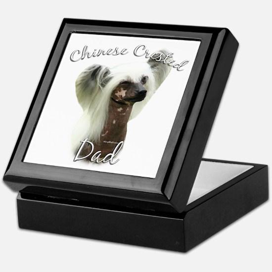 Crested Dad2 Keepsake Box