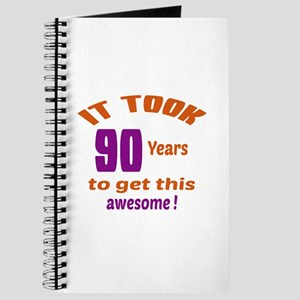It took 90 years to get this Awesome ! Journal
