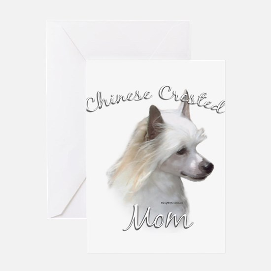 Crested Mom2 Greeting Card