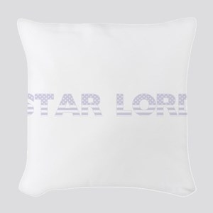 Star Lord - USA Flag Design Woven Throw Pillow