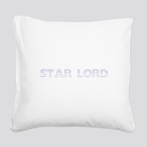 Star Lord - USA Flag Design Square Canvas Pillow