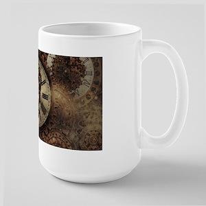 Vintage Steampunk Clocks Mugs
