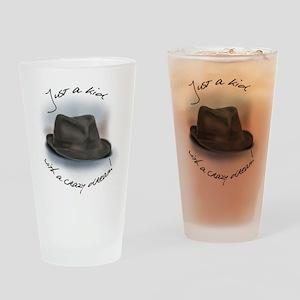 Hat For Leonard Crazy Dream Drinking Glass