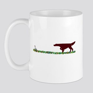 Irish Setter in the Field Mug