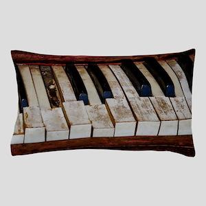 Vintage Piano Pillow Case