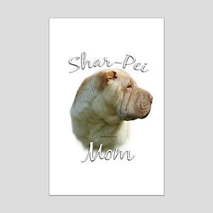 Shar Pei Mom2 Mini Poster Print