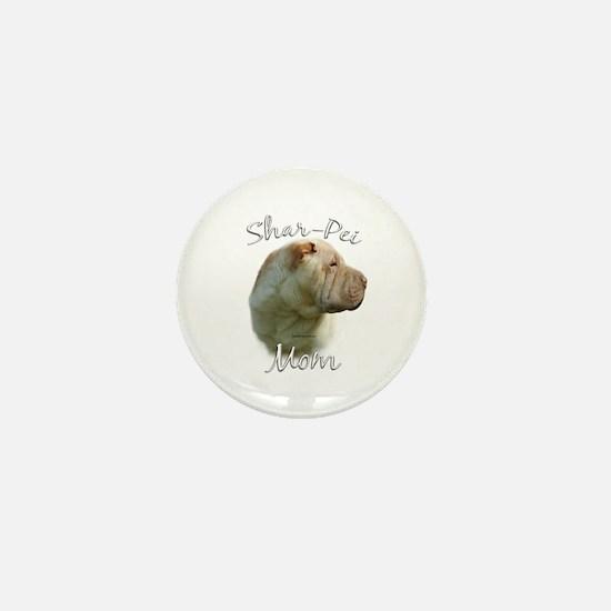 Shar Pei Mom2 Mini Button