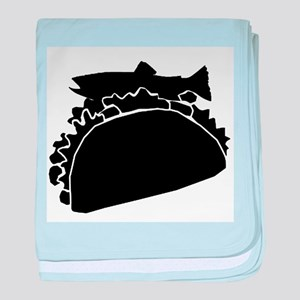 fish taco baby blanket