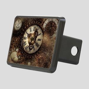 Vintage Steampunk Clocks Hitch Cover