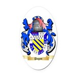 Pagon Oval Car Magnet