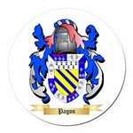 Pagon Round Car Magnet