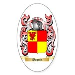 Pagnin Sticker (Oval 10 pk)