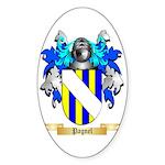 Pagnel Sticker (Oval 10 pk)