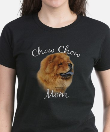 Chow Mom2 Women's Dark T-Shirt