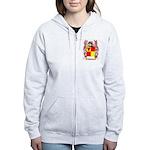 Pagnam Women's Zip Hoodie