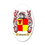 Pagnam 35x21 Oval Wall Decal