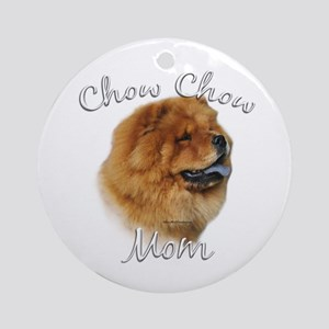 Chow Mom2 Ornament (Round)