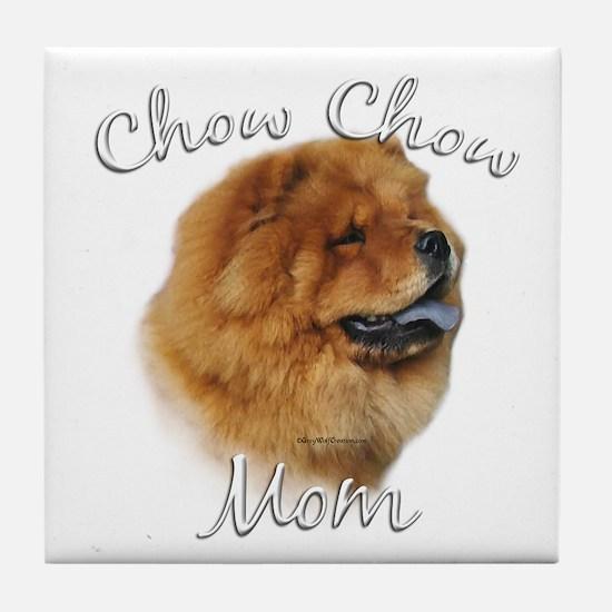 Chow Mom2 Tile Coaster