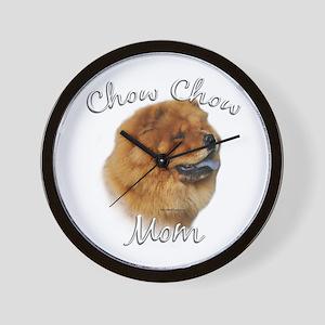 Chow Mom2 Wall Clock
