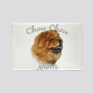 Chow Mom2 Rectangle Magnet