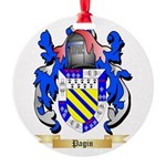 Pagin Round Ornament