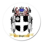 Paget Round Car Magnet