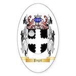 Paget Sticker (Oval 10 pk)