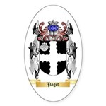 Paget Sticker (Oval 50 pk)