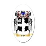 Paget 35x21 Oval Wall Decal