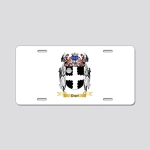 Paget Aluminum License Plate