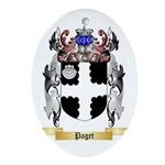 Paget Oval Ornament