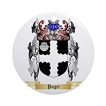 Paget Round Ornament