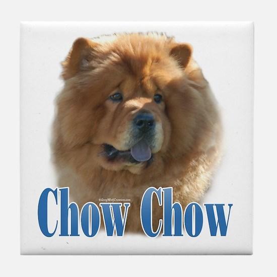 ChowName Tile Coaster