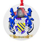 Pagen Round Ornament