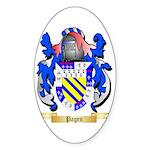 Pagen Sticker (Oval 50 pk)