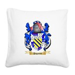 Paganini Square Canvas Pillow