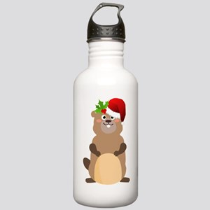 Santa Claus christmas Stainless Water Bottle 1.0L