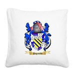 Paganetto Square Canvas Pillow
