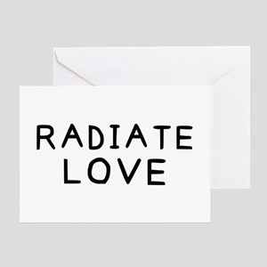Radiate Love Greeting Card