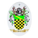Paez Oval Ornament